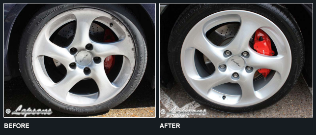 Porsche 911 Wheel BeforeAfter 1