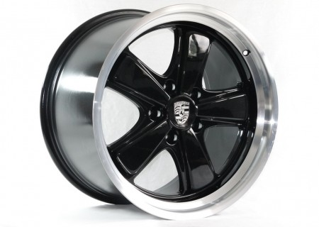 Gloss Black with Diamond Cut Rim