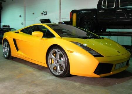 Lamborghini Yellow