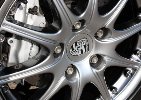 Porsche Chrome Wheel