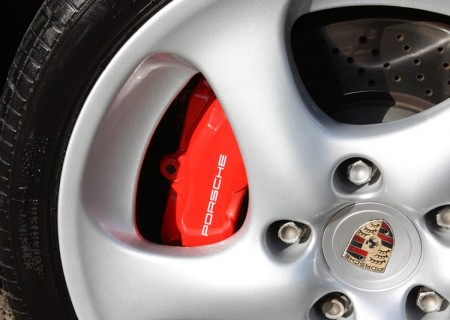 Porsche 996 Turbo Silver wheel