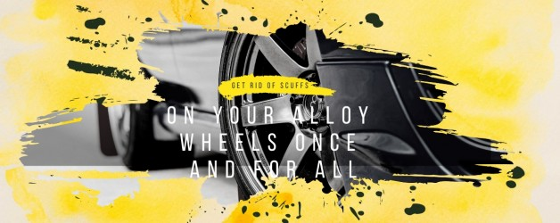 Get Rid Of Scuffs On Your Alloy Wheels Once And For All