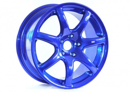 Blue with a Nickel Chrome Base