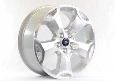 Bright Sparkle Silver with a Diamond Cut Rim