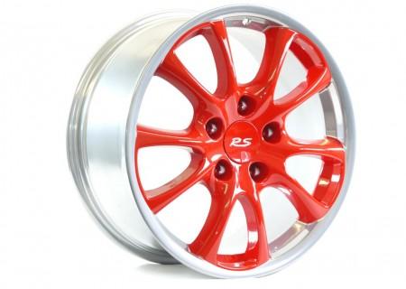 Custom Finish – Porsche (one piece wheel)