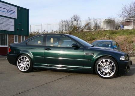 BMW M3 Green