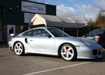 Porsche 996 Turbo Silver