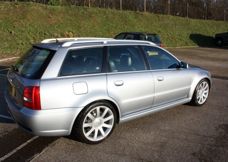 Audi RS4 Avant (after)