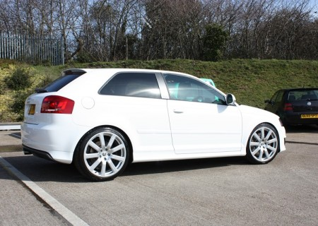 Audi S3 (after)